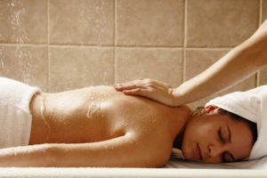 Misty Rain Shower Massage in Greenville, SC from MG's GRAND Day Spa, voted Best Day Spa of the Upstate