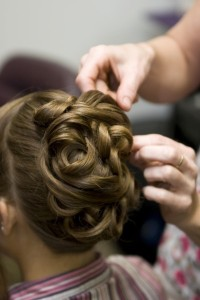 Up Do in Greenville, SC from MG's GRAND Day Spa