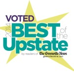 Voted Best of the Upstate in 2014