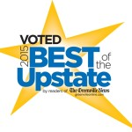 Voted Best of the Upstate in 2015