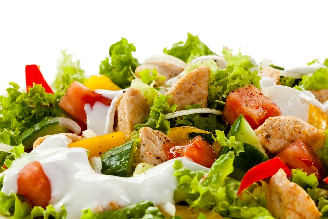 Chicken Salad with BBQ Ranch Dressing Recipe