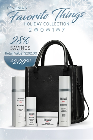 Micro-Retinol Collection from Pevonia
