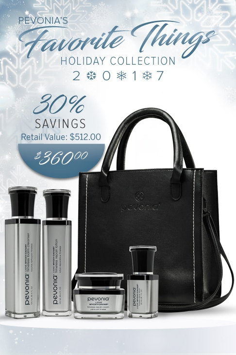 Rejuvenation Celebration Gift Collection from Pevonia