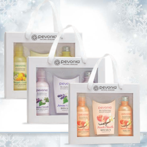 Soak-In-The-Holidays Gift Collection from Pevonia