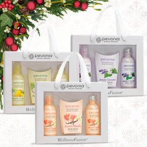 Enchanting Renewal gift sets from Pevonia