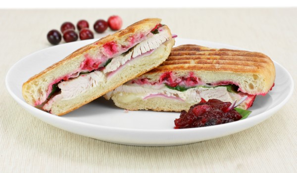 turkey and swiss panini