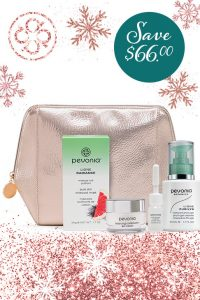Holiday Gift Set from Pevonia - Charcoal Mask