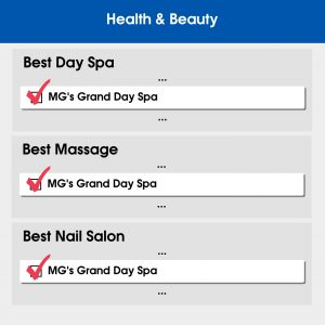 vote for MG's GRAND Day Spa